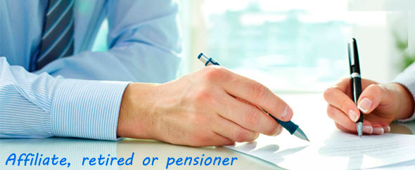 quick loans Affiliate, retired or pensioner
