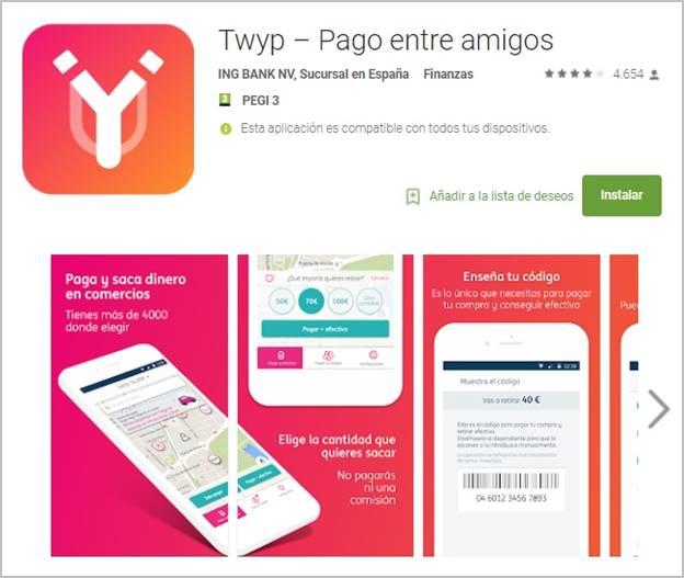 twyp-app-pagos-movil